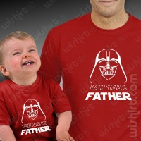 T-shirts I am Your Father Bebé