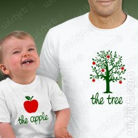 T-shirts The Tree The Apple Bebé
