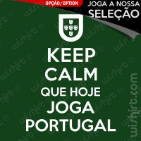 T-shirt Keep Calm Portugal