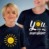 T-shirts Sunshine Criança