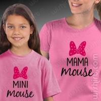 T-shirts Mini Mouse Mama Mouse Criança