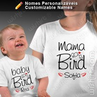 T-shirts Mama Bird Baby Bird