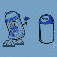 T-shirt R2-D2 in Love