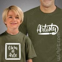 T-shirts Artista / Obra de Arte Criança