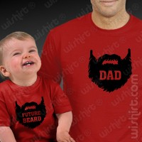 T-shirts Future Beard Bebé