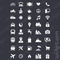 T-shirt Férias / Viajar / Vacation / Travel