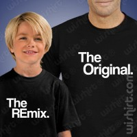T-shirts The Original / The Remix - Criança