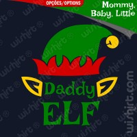T-shirt Daddy / Mommy Elf