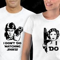 T-shirts I don't do matching shirts