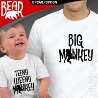 T-shirts Big/Teeny Weeny Monkey Bebé