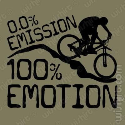 T-shirt 0% Emission 100% Emotion