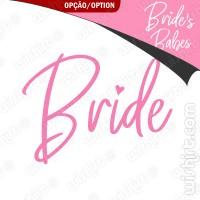 T-shirt Bride/Brides Babes