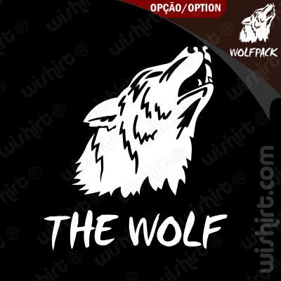 T-shirt The Wolf / Wolfpack - Edição Especial Despedida de Solteiro