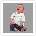 Tamanhos T-shirt Bebé Unisexo