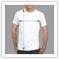 Tamanhos T-shirt Homem Unisexo (medidas aproximadas)